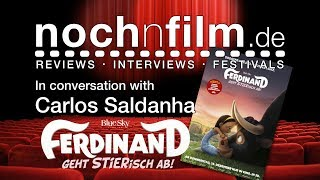 In Conversation With Carlos Saldanha | Ferdinand | Interview