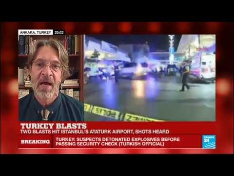 Istanbul: two suicide bombers spread fire and detonate themselves in Istanbul Ataturk airport