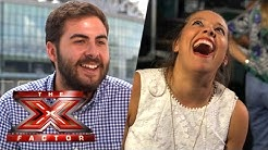 The X Factor Backstage with TalkTalk TV Ep 9 Ft. Kerrianne Covell & Andrea Faustini