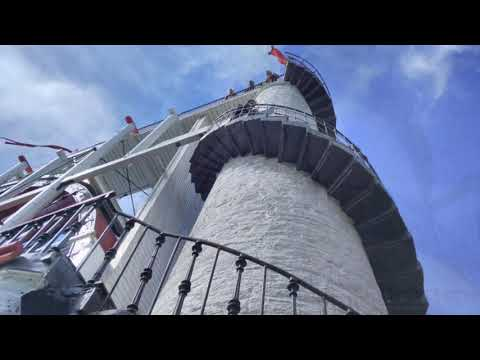 Isle Of Man Electric Train & Laxey Wheel - August 2017