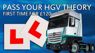 How to pass your HGV Theory Test in 2 weeks for £125 or less