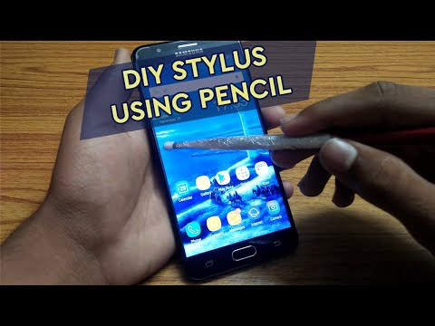 How to make a stylus in 3 min with a pencil!