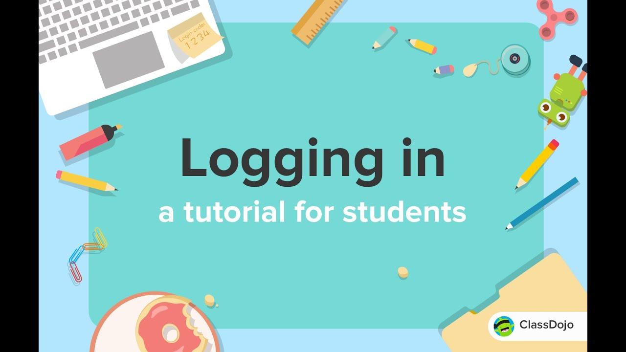 How Students Log In To Classdojo Youtube