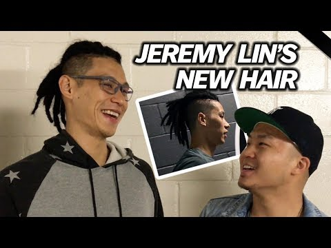 JEREMY LIN TALKS ABOUT HIS HAIR