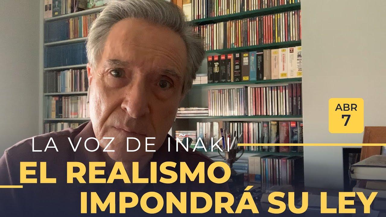 La voz de Iñaki Gabilondo | 07/04/20 | El realismo impondrá su ley