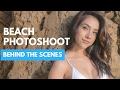 MODEL POSES - Photoshoot at Newport Beach, California