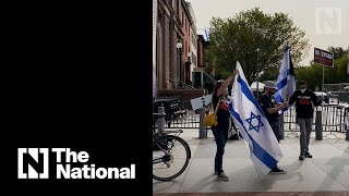 Israeli Supporters Gather Outside White House Ahead Of Abraham Accord Signing