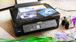 Обзор МФУ Epson  Expression Home XP-320 с СНПЧ