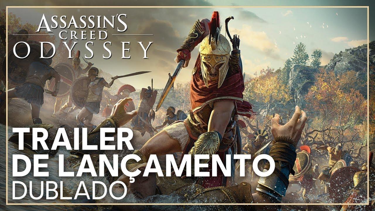 Assassin's Creed Odyssey - Trailer de Lançamento (Dublado)