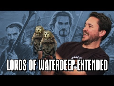 Extended TableTop: Lords of Waterdeep (Felicia Day, Pat Rothfuss, Brandon Laatsch, and Wil Wheaton)