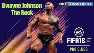 "FIFA 18 ProClub Dwayne ""The Rock"" Johnson Game Face"