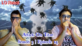 """Gambar cover Attack On Titan 3x14 """"Thunder Spears"""" REACTION!"""