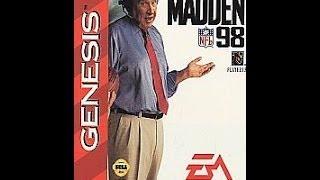 Madden NFL 98 (Sega Genesis)