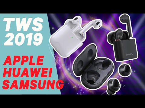 Comparativa Mejores Auriculares Bluetooth TWS 2019 - Airpods Vs Freebuds 2 Pro Vs Galaxy Buds