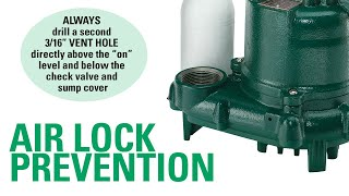 Airlock Prevention Tips From Zoeller Pump Company