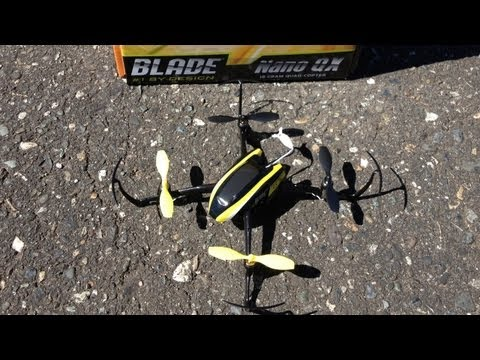 Blade Nano QX BNF Quadcopter with SAFE Technology Outdoor Flight Fun in Wind
