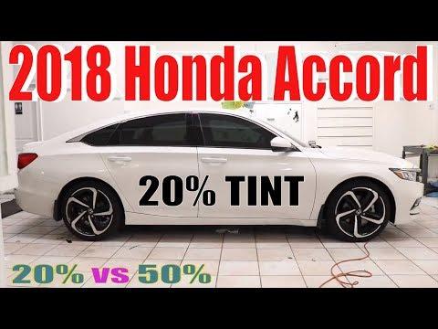Precut Window Tint For Honda Accord 4 Door 2018-2019 Front Doors