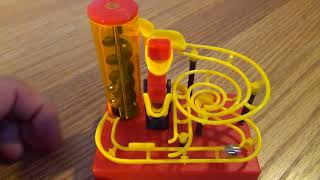 MaBoRun mini Tornado Marble Maze Toy Game Motorized Fun Science Steel Marbles