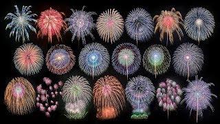 [ 4K ] 見事な尺玉が20発! 2018 いばらきまつり フィナーレ花火 - Ibaraki Matsuri Fireworks - (shot on Samsung NX1)