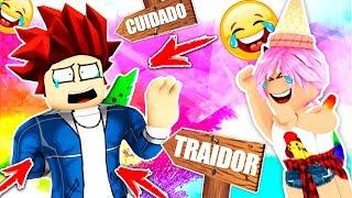 HOW TO DETECT A 😂 TRAITOR Roblox Murder Mystery 2 English