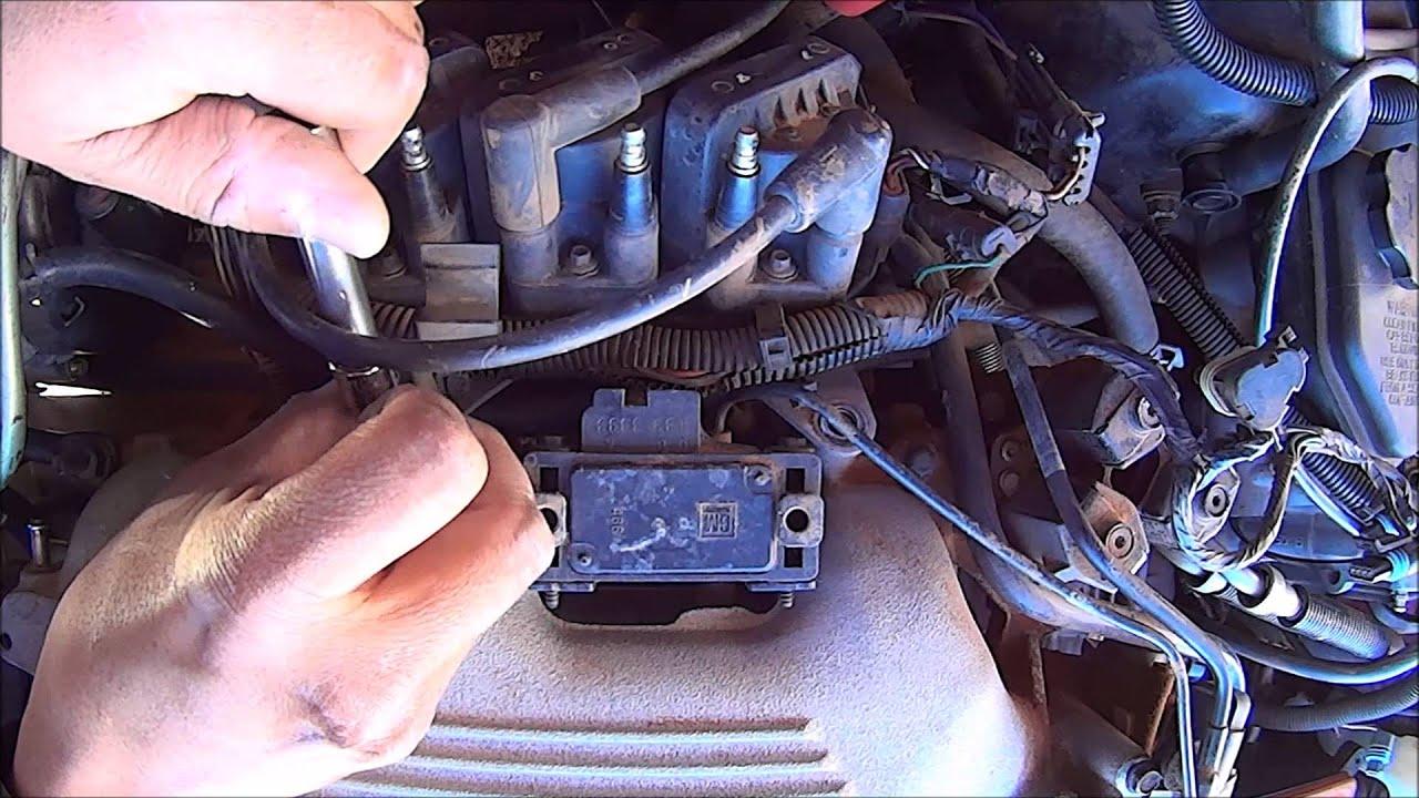 gm 60 v6 upper intake manifold removal [ 1280 x 720 Pixel ]