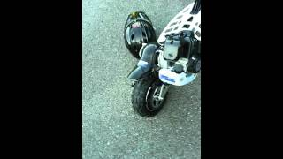 Evo 2x 50cc gas scooter