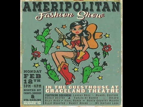 2018 Ameripolitan Music Awards Fashion Show