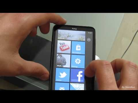 Обзор HTC HD7 на базе Windows Phone 7