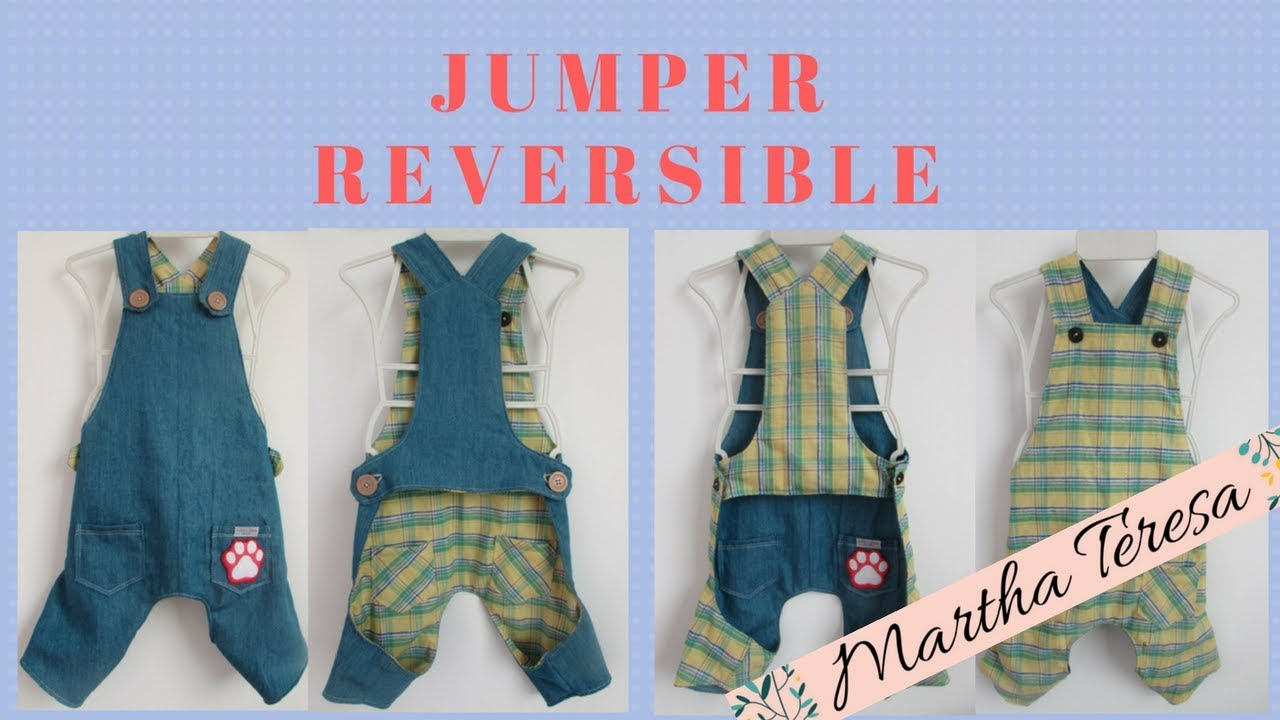 Jumper Reversible Para Perritos ¡Super Fácil ! DIY. - YouTube