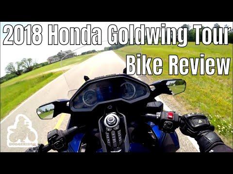 2018 Goldwing Tour DCT - Bike Review