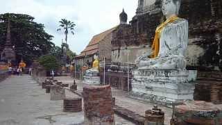 2011.8.20 アユタヤの寺院 その2 Ayutthaya