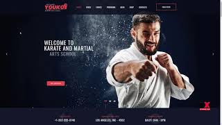Youko - Martial Arts WordPress Theme      Gerry Kelvin