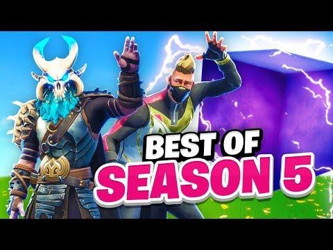 Season 5 Best Moments In Fortnite Battle Royale!