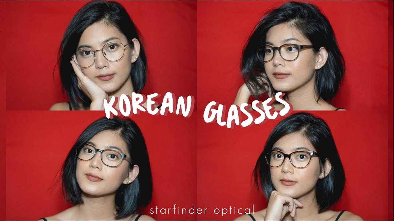 Makeup for Glasses + Glasses Try-on ft. Starfinder Optical - YouTube c42df6f42cae