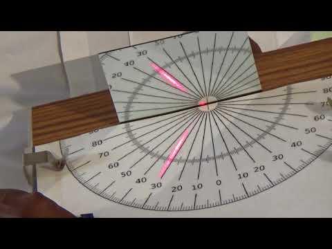 Understanding Reflection properties of Light  Practically