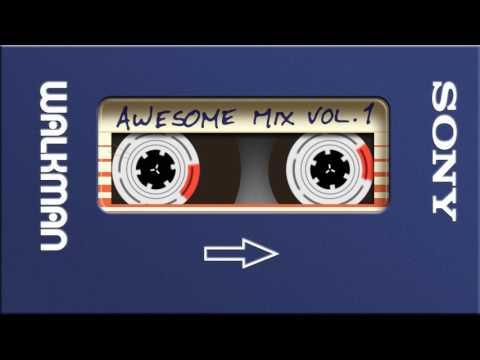 Awesome Mix Vol 1 on a Virtual Walkman