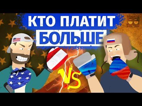 Сравнение Налогов России и США