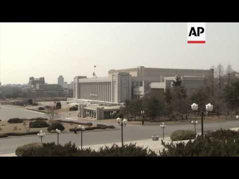 NKorea's parliament meets amid nuclear tension, FILE