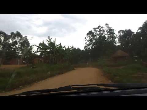 Sur la route Beni - Butembo au Nord-Kivu