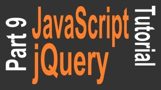 JavaScript & jQuery Tutorial for Beginners - 9 of 9 - Variables