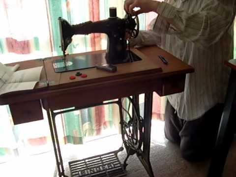 Singer Treadle Belt Replace Cord For Sewing Machines YouTube Classy Singer Manual Sewing Machine Price In India