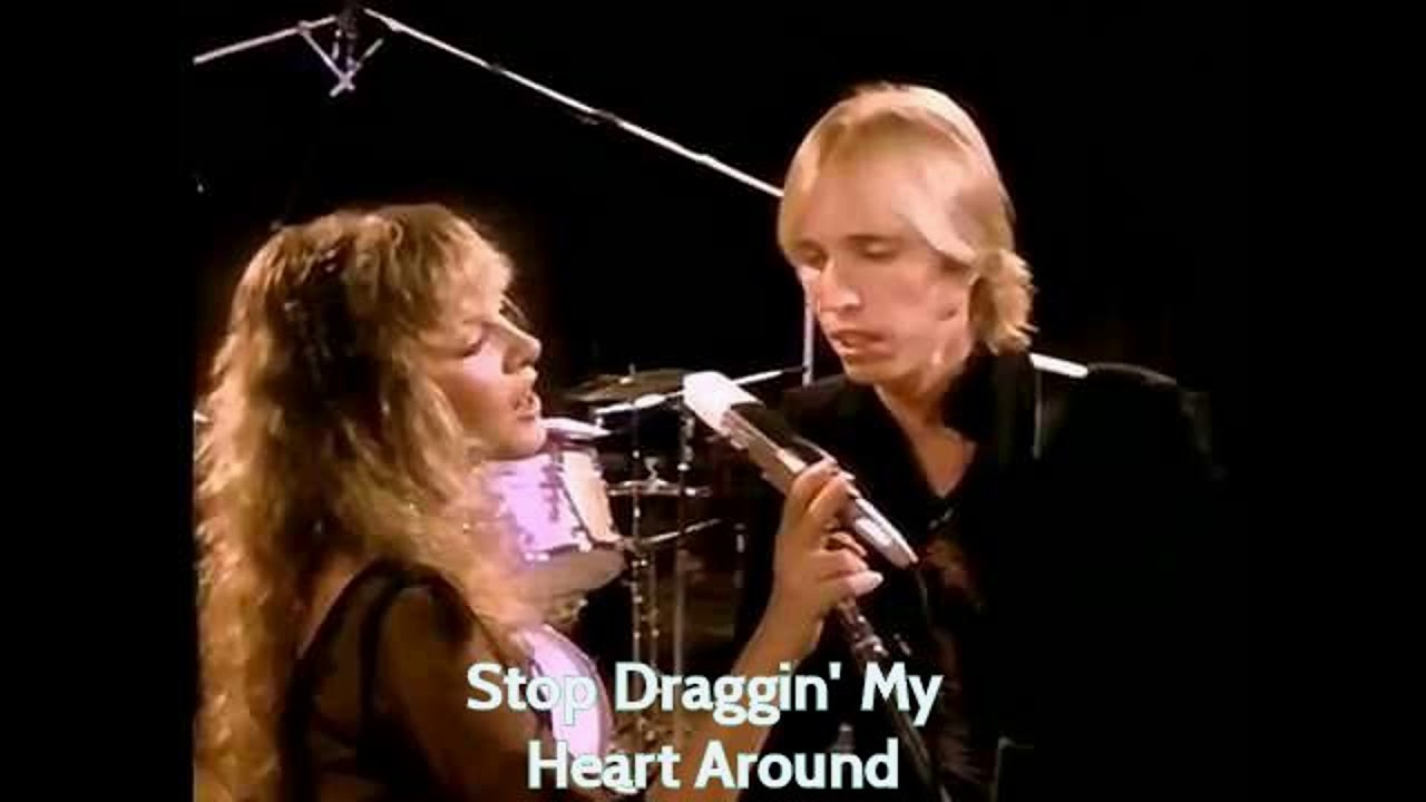 stop draggin my heart around fleetwood mac