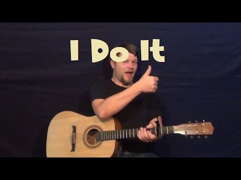 I Do It (2 Chainz) Guitar Lesson How to Play Strum Chords Tutorial