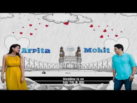 Arpita & Mohit Pre-wedding e-invite | deepak photography™