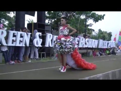 GREEN RECYCLE FASHION 2016