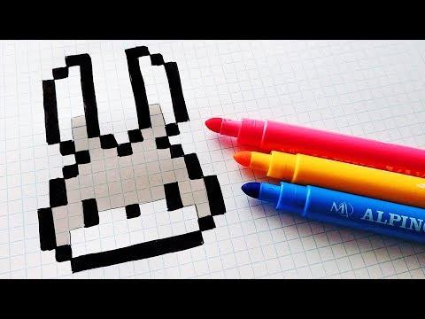 Handmade Pixel Art - How To Draw an AAA #pixelart