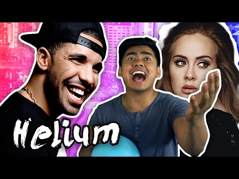 HELIUM SINGING CHALLENGE!