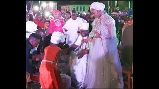 Watch 8Yr Old Girl Amazing Performance As She Sings For Ooni Of Ife  His Wife That Got Them Dancing