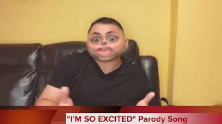 "😂🎶""I'M SO EXCITED""🎶😂 Song Parody by Rodia Comedy"