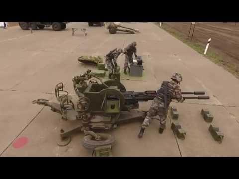 Завершающий этап международного конкурса «Мастер-оружейник» — финальная эстафета ремонтных взводов